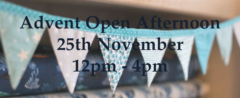 Advent Open Afternoon at Dragonfly Fabrics