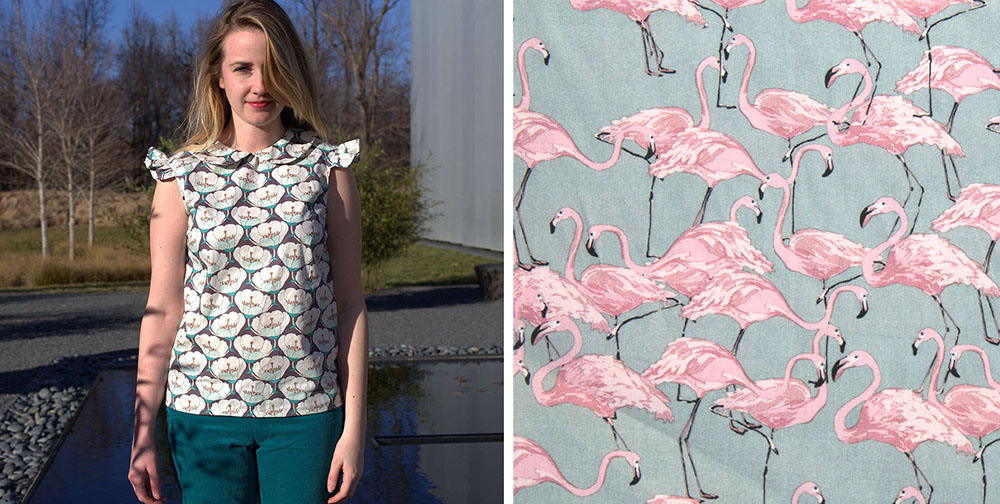 Spring Sewing With Printed Cotton Lawns | Dragonfly Fabrics, Dress ...
