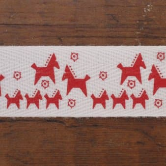 Westfalenstoffe- Red Pony Cotton tape