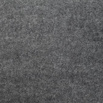 boiled wool coating fabric grey melange