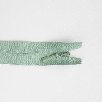 Concealed Zip Mid Green 20cm