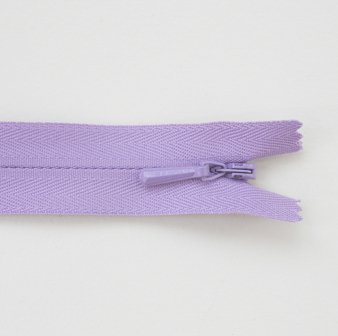 Concealed Zip Lilac 20cm