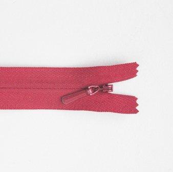Concealed Zip Red 20cm