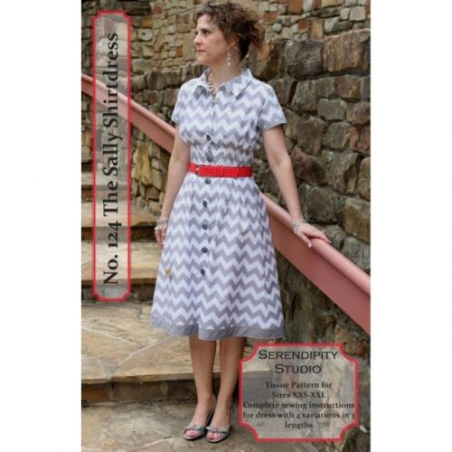 Serendipity Studio - The Sally Shirt Dress Sewing Pattern