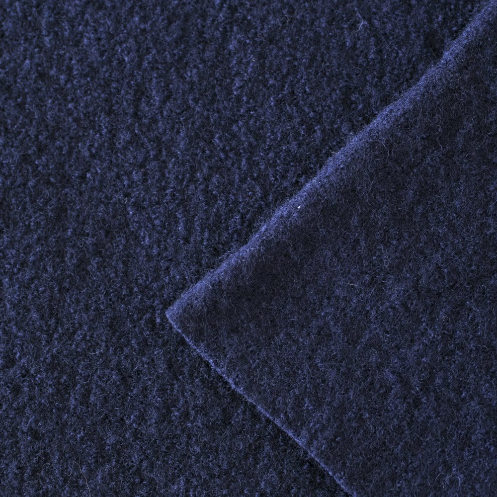 Boiled Wool French Navy Dragonfly Fabrics Quality