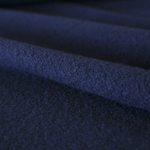 boiled wool french navy