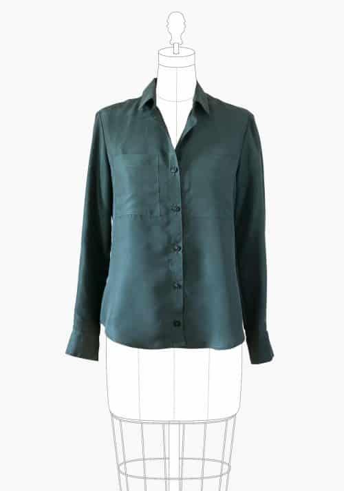 Grainline Studio - Archer Button Up Shirt Sewing Pattern