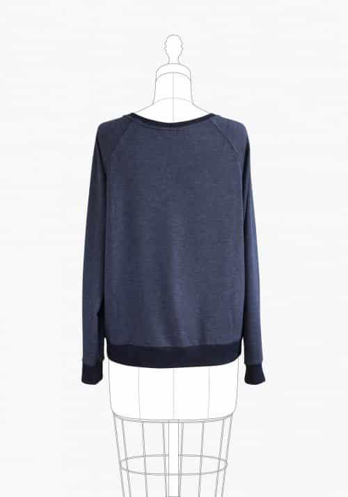 Grainline Studio - Linden Sweatshirt Sewing Pattern