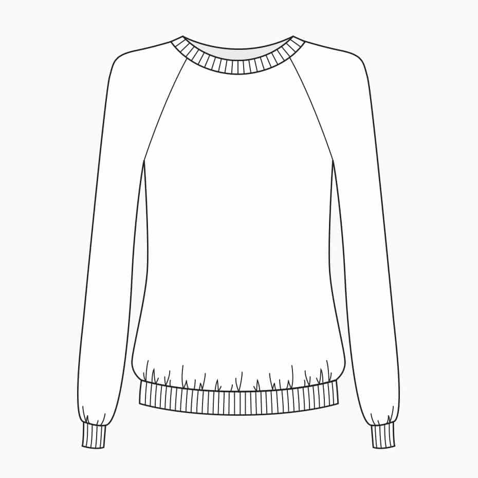 Grainline Studio - Linden Sweatshirt Sewing Pattern | Dressmaking ...