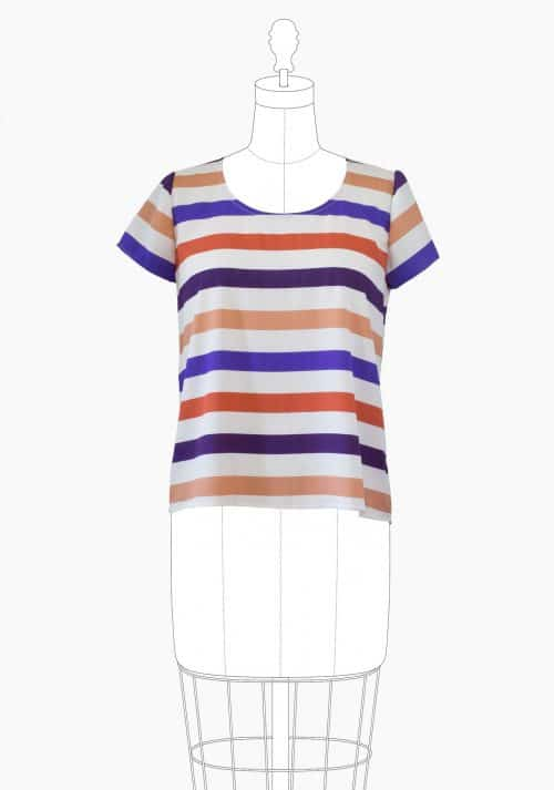 Grainline Studio - Scout Tee Sewing Pattern