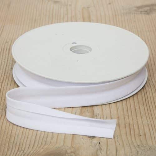 Bias Binding 25mm - white