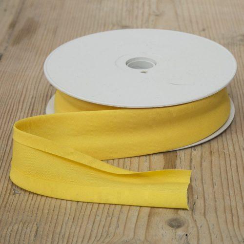 Bias Binding 25mm - yellow