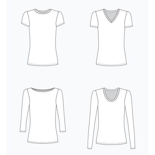 Grainline Studio - Lark Tee Sewing Pattern