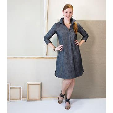Liesl & Co Gallery Tunic And Dress Sewing Pattern