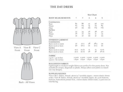 The Avid Seamstress - The Day Dress