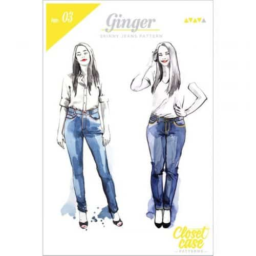 Closet Case Files - Ginger Skinny Jeans Sewing Pattern