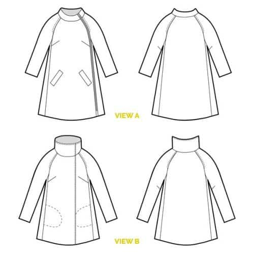 Closet Case Files Pattern - Clare Coat