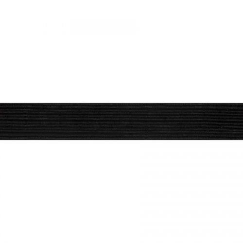 Braided Elastic 13 mm - black
