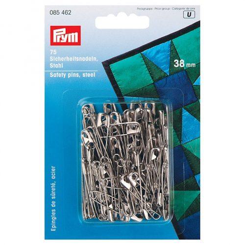 Prym - Safety Pins 75 pieces Steel silver 38mm