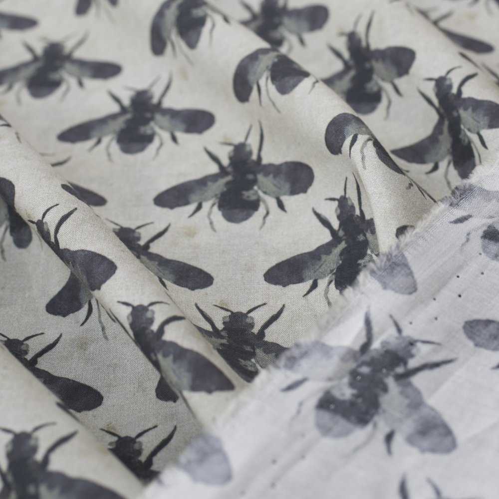 Cotton Chambray Dragonfly Fabrics Dress Fabric For
