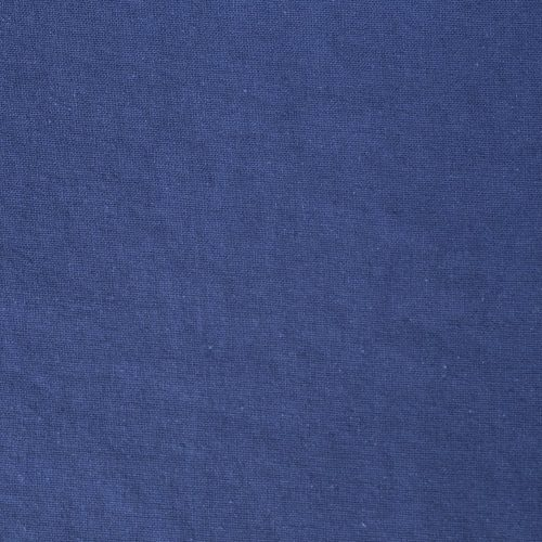 Linen Cotton Blend Dress Fabric - Cornflower Blue