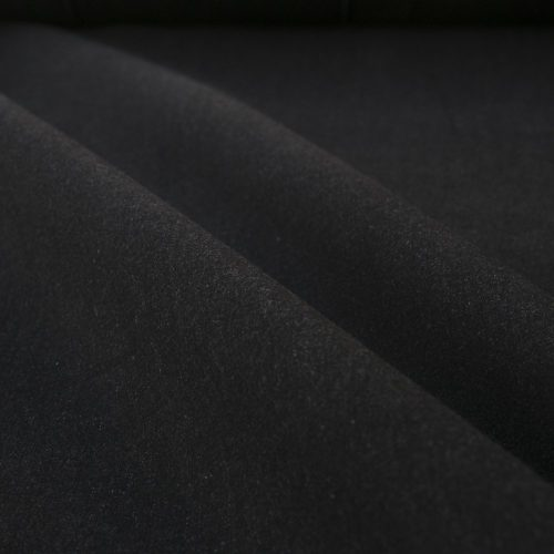8.5 oz Washed Stretch Denim Fabric - Black