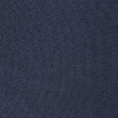 Linen Cotton Blend Dress Fabric - Denim