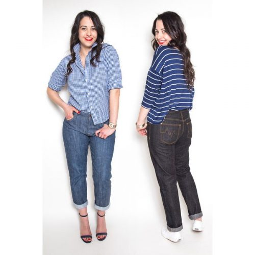 Closet Case Files - Morgan Boyfriend Jeans Sewing Pattern