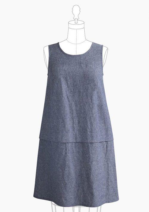 Grainline Studio - Willow Tank Dress Sewing Pattern
