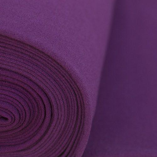 Rio Crepe Fabric - Purple