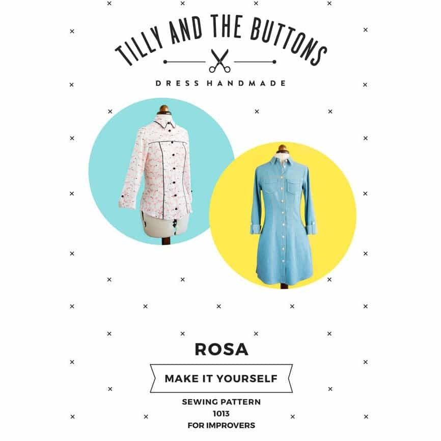 Tilly and the buttons rosa shirt dress dragonfly fabrics tilly and the buttons rosa shirt dress solutioingenieria Image collections
