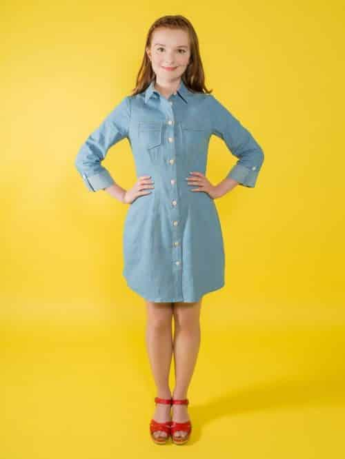 Tilly and the Buttons - Rosa Shirt & Dress Sewing Pattern