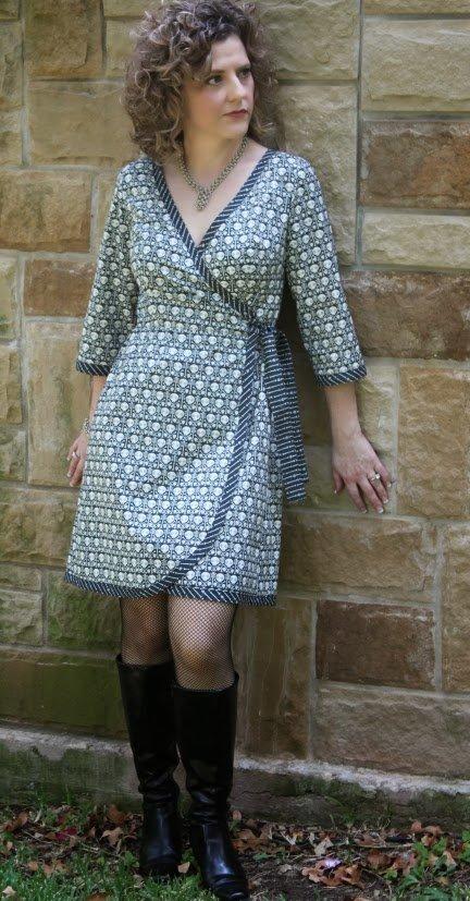 Serendipity Studio - The Ramona Wrap Dress Sewing Pattern