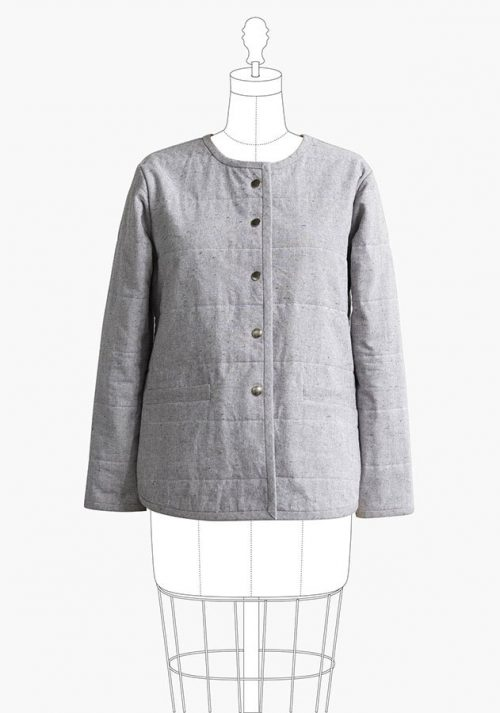 Grainline Studio - Tamarack Jacket Sewing Pattern