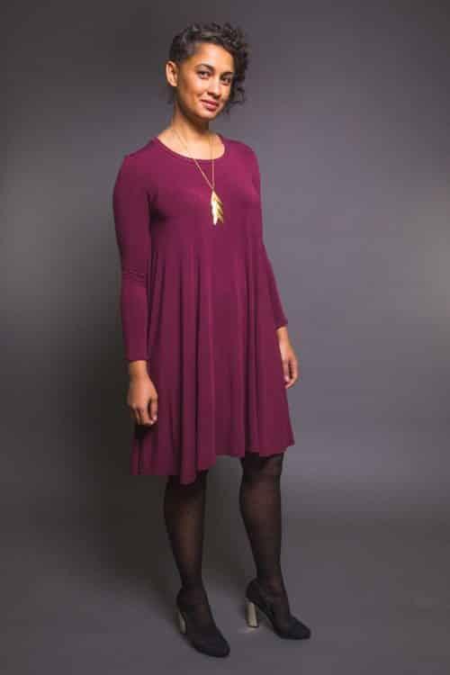 Closet Case Files - Ebony T-Shirt & Dress Sewing Pattern