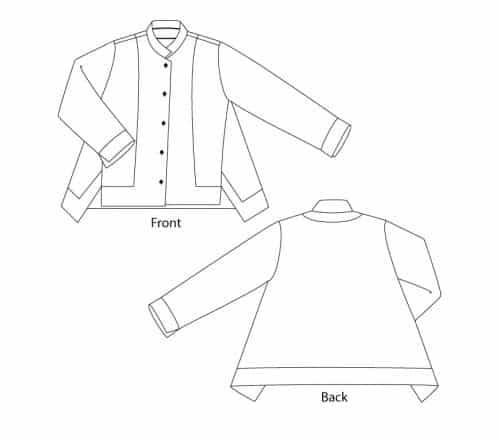 Sewing Workshop - Liberty Shirt Sewing Pattern