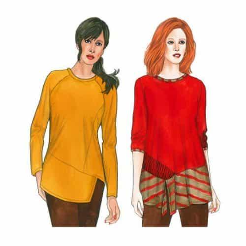 Sewing Workshop - Odette & Ivy Tops Sewing Pattern