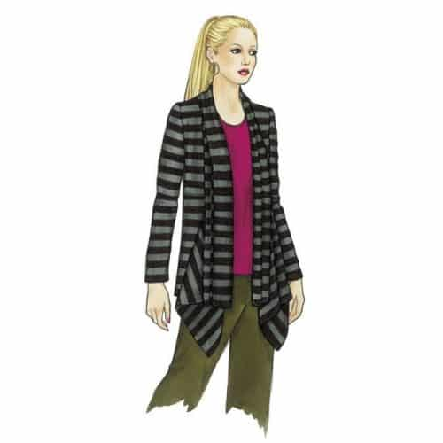 Sewing Workshop - Ann's Cardigan & Tank Sewing Pattern