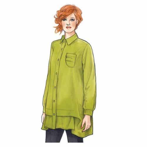 Sewing Workshop Pattern - Florence Shirt Sewing Pattern
