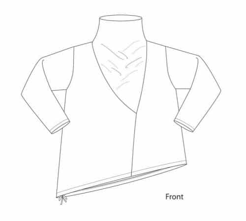 Sewing Workshop - Barcelona Top Sewing Pattern
