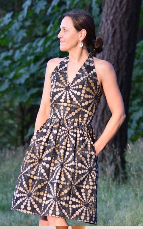 Sew House Seven - The Rose City Halter Dress Sewing Pattern