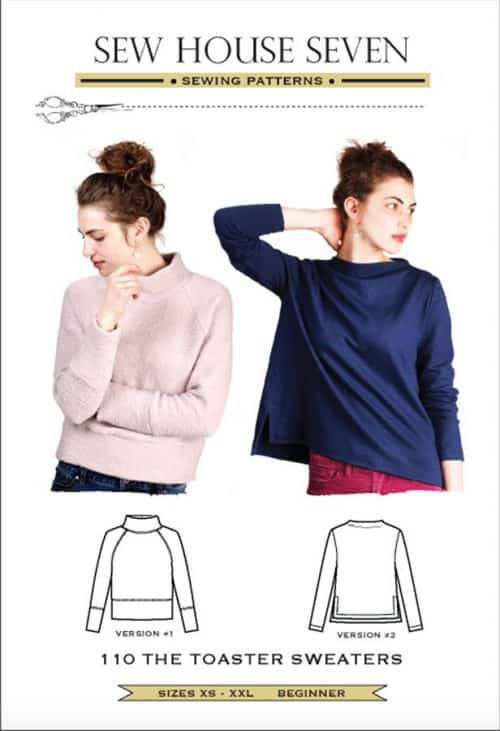 Sew House Seven - The Toaster Sweater Sewing Pattern