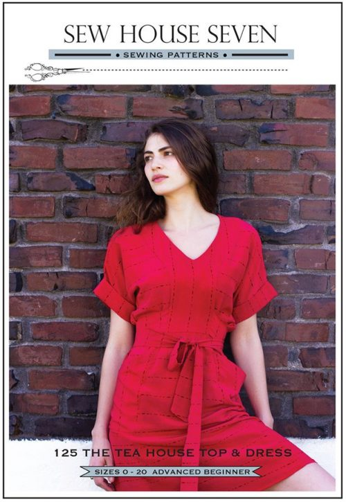 Sew House Seven - The Tea House Top and Dress Sewing Pattern