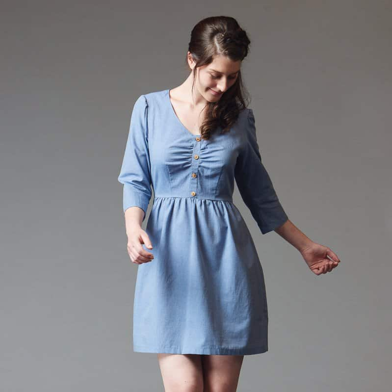 Deer Amp Doe Sureau Dress Sewing Pattern
