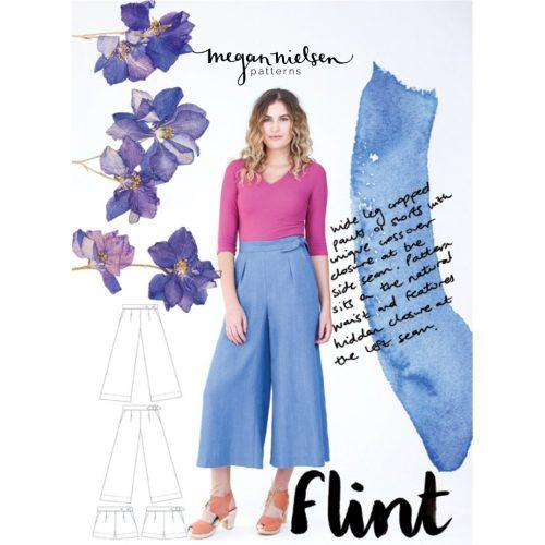 Megan Nielsen - Flint Pants and Shorts Sewing Pattern