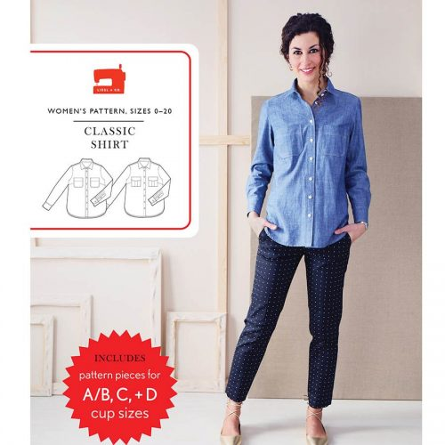 Liesl and Co Classic Shirt Sewing Pattern