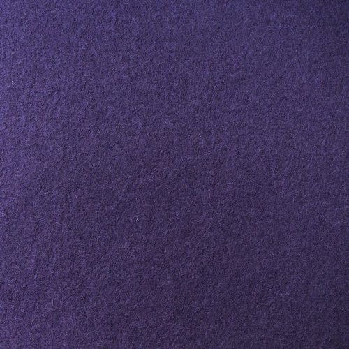 boiled wool knit fabric damson