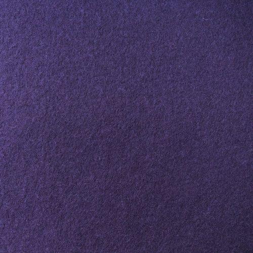 boiled wool knit fabric damson
