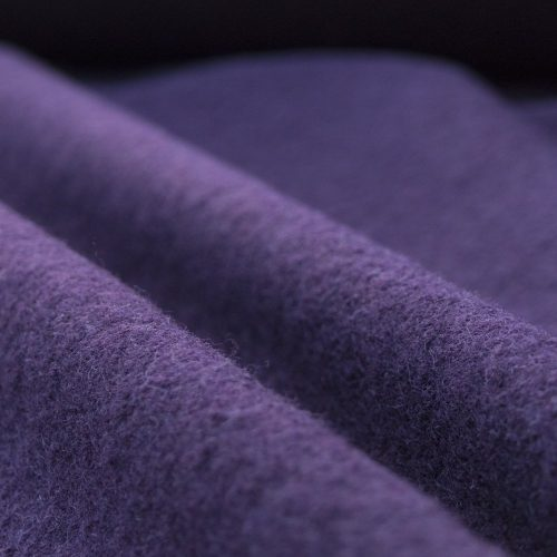 boiled wool fabric damson