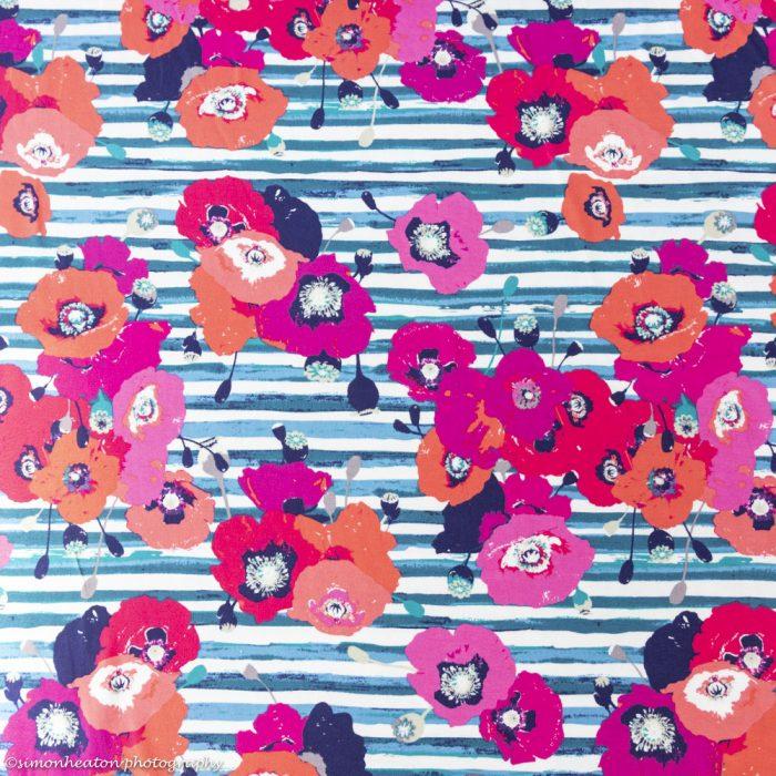 paparounes skopelos crimson art gallery knit jersey fabric